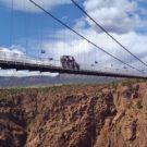 Colorado Jeep Tours driving over Royal Gorge Bridge