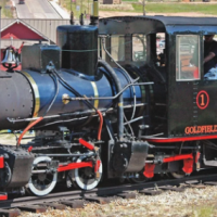 functioning train replica Royal Gorge Canon City Colorado