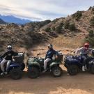 Play Dirty ATV Tour Guides are ready for their ride Royal Gorge Canon City Colorado