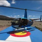 Royal Gorge helicopter tour lands on a Colorado pad in Canon City Colorado