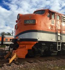 Royal Gorge train ride near Colorado Springs, CO