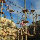 Zipline Park and Aerial Course give participants a fun challenge Royal Gorge Canon City Colorado