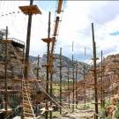 aerial course gives participants a challenge Captain Zipline Royal Gorge Canon City Colorado
